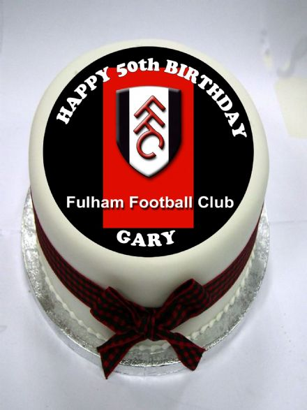 Fulham Edible Cake Topper